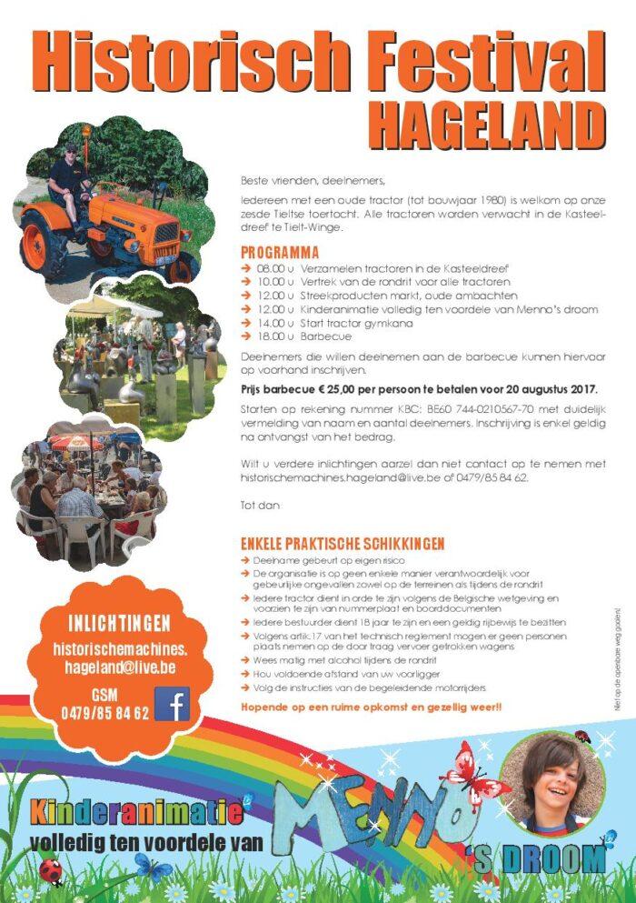 Historisch festival Hageland